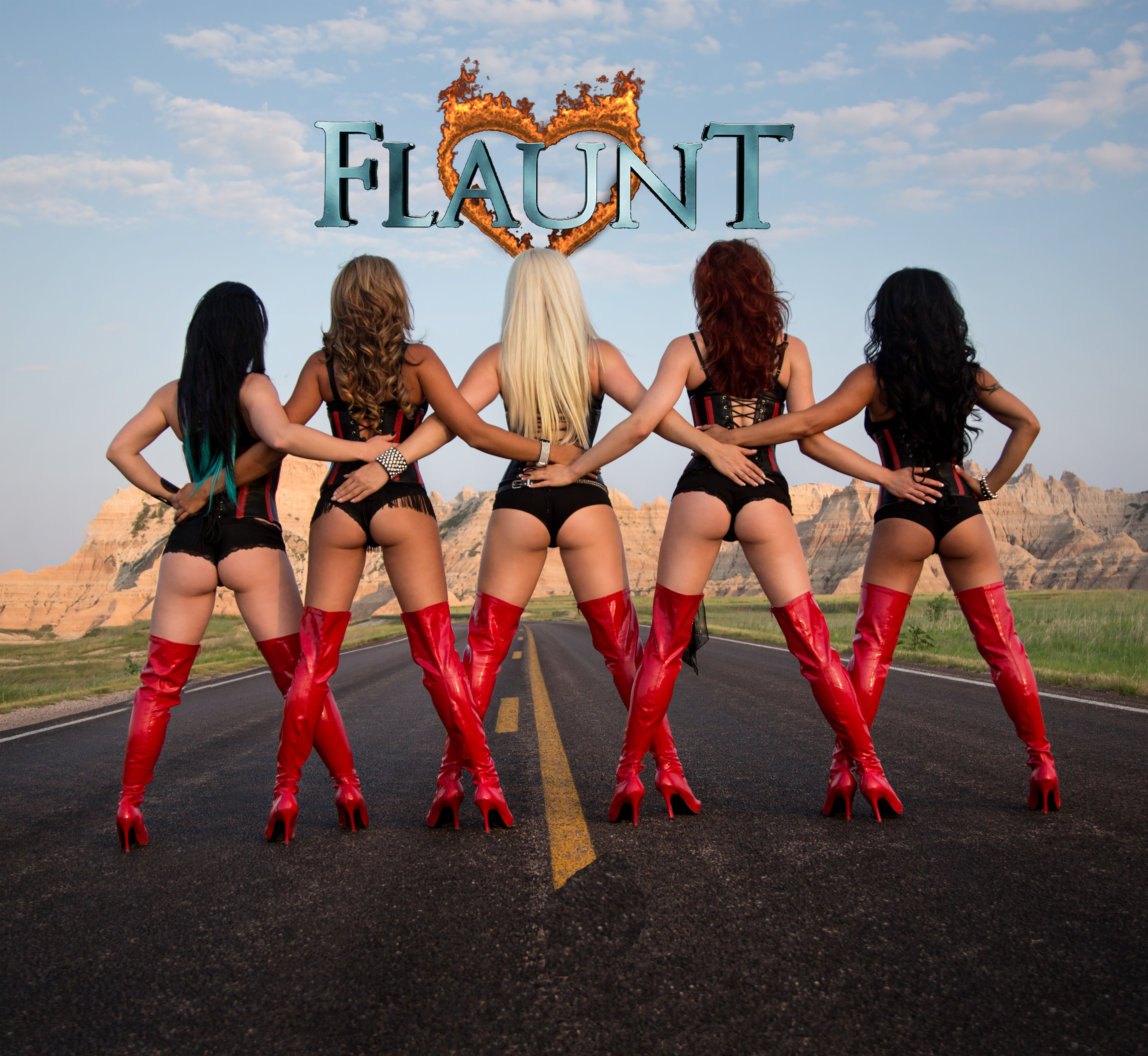Flaunt Girls - The Dirty Dogg Saloon