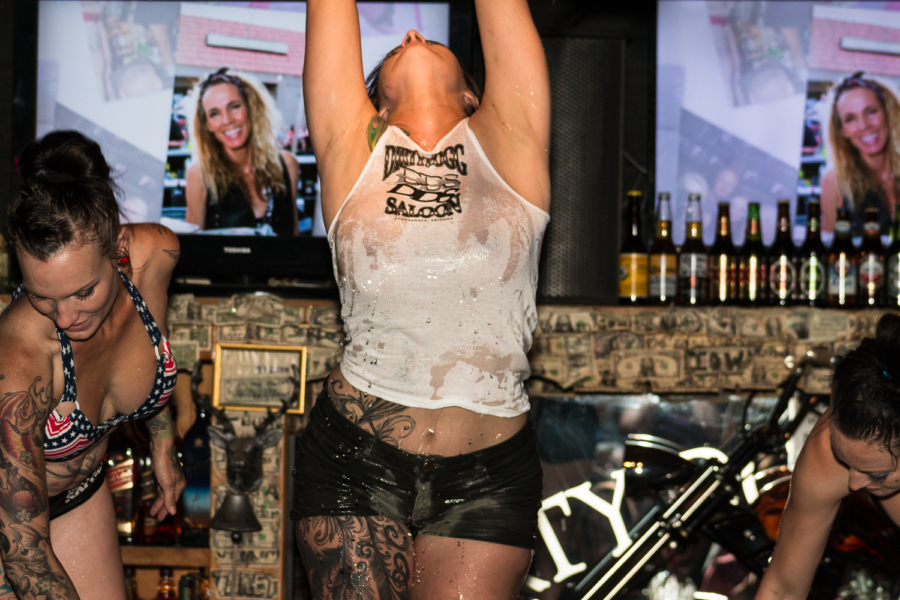 Dirty Dogg Saloon, Scottsdale nightlife, Arizona Bike Week, Wet n' Wild Wednesday
