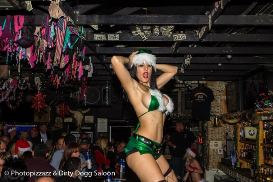 Bad Santa Party at the Dirty Dogg Saloon